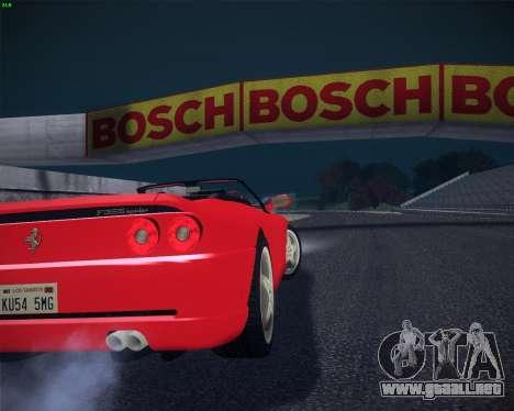 Ferrari F355 Spyder para GTA San Andreas left