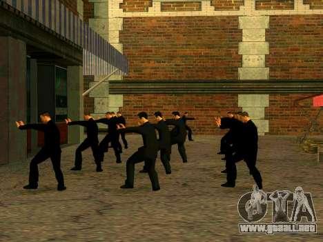 Entrenamiento Vusi para GTA San Andreas sucesivamente de pantalla