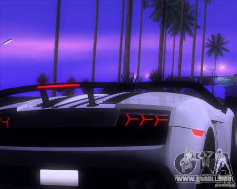 ENBSeries by LeRxaR v4.0 para GTA San Andreas quinta pantalla