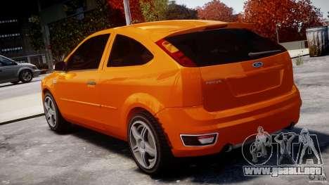 Ford Focus ST para GTA 4 Vista posterior izquierda