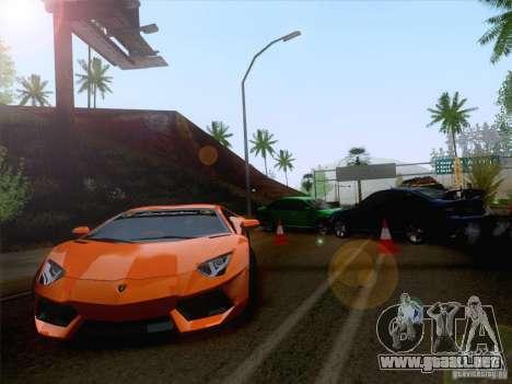 Accidente en la carretera para GTA San Andreas segunda pantalla