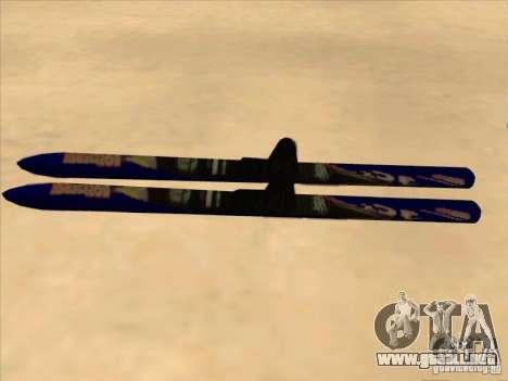 Esquí-esquí para GTA San Andreas left