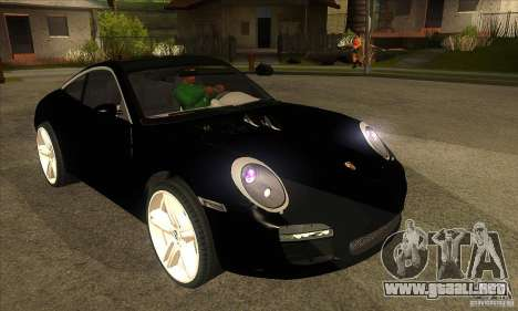 Porsche 911 Targa 4 para GTA San Andreas vista hacia atrás