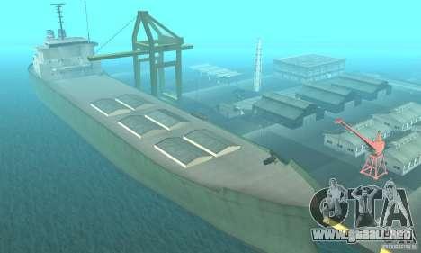 New Island para GTA San Andreas segunda pantalla