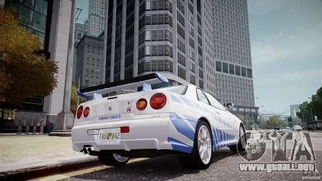Realistic ENBSeries V1.2 para GTA 4 adelante de pantalla