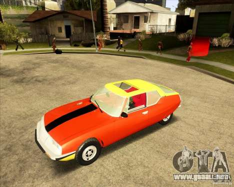 Citroen SM 1971 para visión interna GTA San Andreas