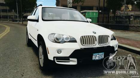 BMW X5 xDrive48i Security Plus para GTA 4
