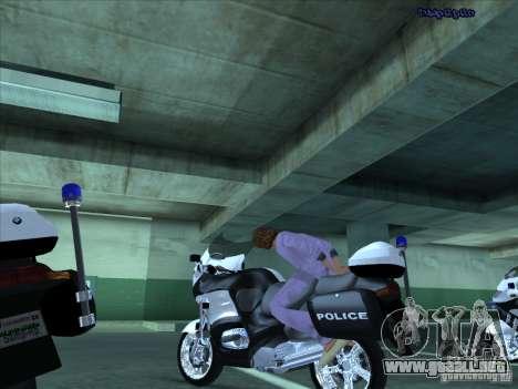 CopBike para visión interna GTA San Andreas
