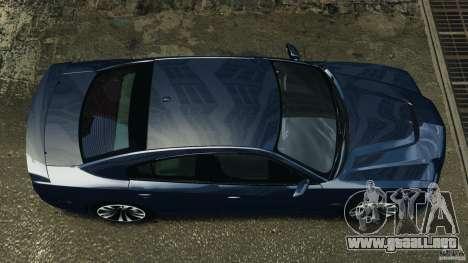 Dodge Charger SRT8 2012 v2.0 para GTA 4 visión correcta