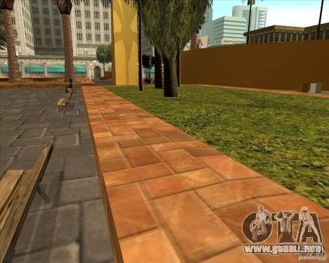 El nuevo Parque Central de Los Santos para GTA San Andreas tercera pantalla