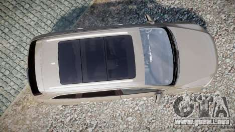 Audi Q7 V12 TDI Quattro Stock  v2.0 para GTA 4 visión correcta