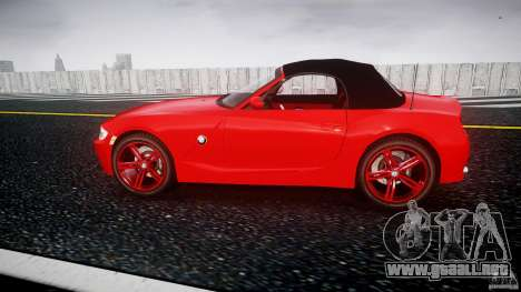 BMW Z4 Roadster 2007 i3.0 Final para GTA 4 left