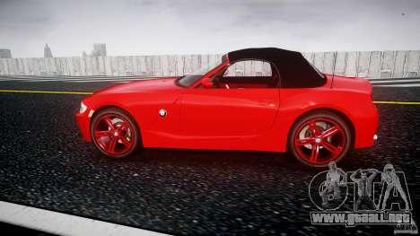 BMW Z4 Roadster 2007 i3.0 Final para GTA 4 left