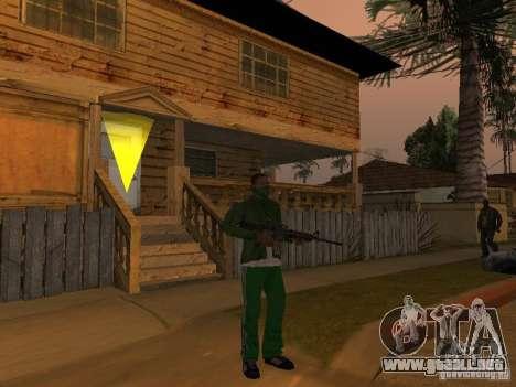 CLEO armas para GTA San Andreas segunda pantalla