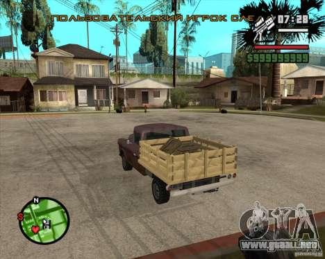 Walton HD para GTA San Andreas left