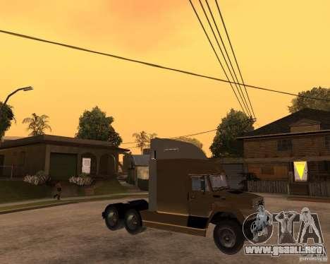 SuperZiL v. 2.0 para la visión correcta GTA San Andreas