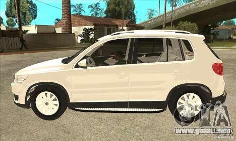 Volkswagen Tiguan 2.0 TDI 2012 para GTA San Andreas left