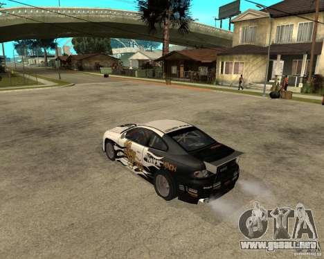 Vauxhall Monaro Rogue Speed para GTA San Andreas left