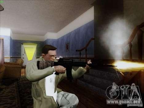 M16A4 para GTA San Andreas tercera pantalla