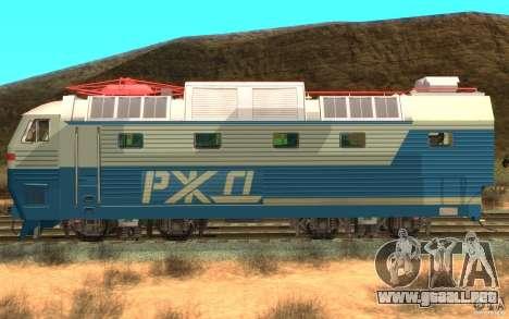 Lokomotiv ChS7-082 para GTA San Andreas left