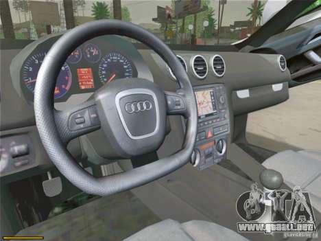 Audi TT Custom para GTA San Andreas vista hacia atrás