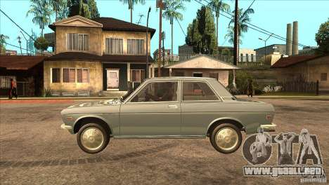 Datsun 510 para GTA San Andreas left
