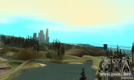 10x Increased View Distance para GTA San Andreas tercera pantalla