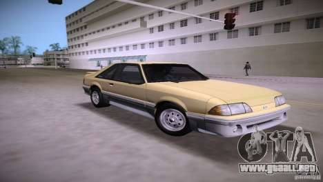 Ford Mustang GT 1993 para GTA Vice City