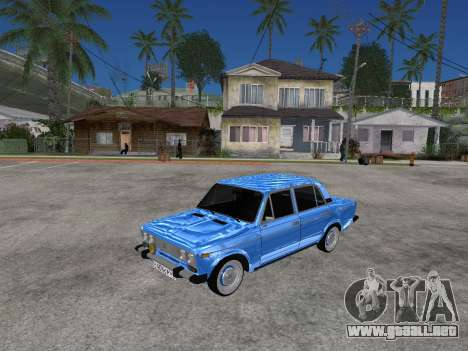 VAZ 2106 Retro V2 para GTA San Andreas left
