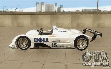 BMW V12 LeMans - Stock para GTA San Andreas left
