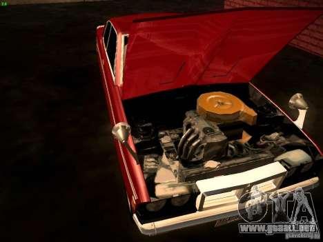 Mitsubishi Galant GTO-MR para GTA San Andreas vista hacia atrás