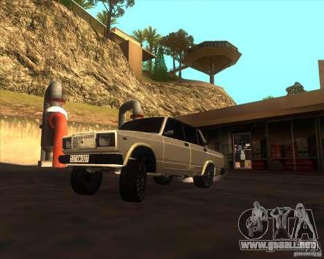 VAZ 2107 Azeri Style para GTA San Andreas