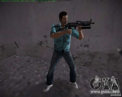PP-19 Bizon para GTA Vice City segunda pantalla