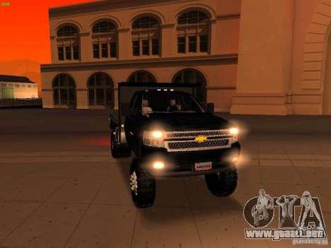 Chevrolet Silverado HD 3500 2012 para GTA San Andreas interior