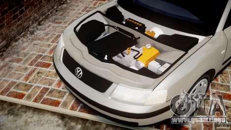 Volkswagen Passat B5 para GTA 4 vista interior