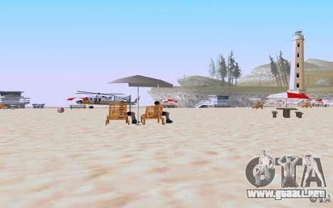 Reality Beach v2 para GTA San Andreas