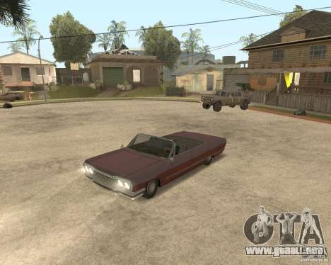Extreme Car Mod (Single Player) para GTA San Andreas tercera pantalla