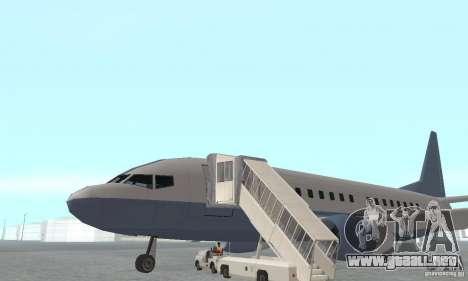 Airport Vehicle para GTA San Andreas sucesivamente de pantalla