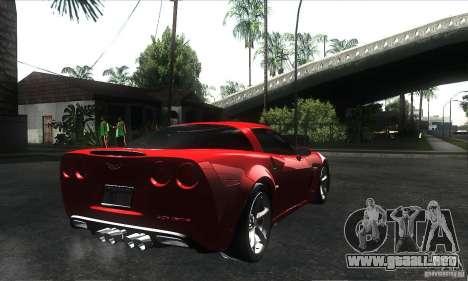 Chevrolet Corvette Grand Sport 2010 para las ruedas de GTA San Andreas