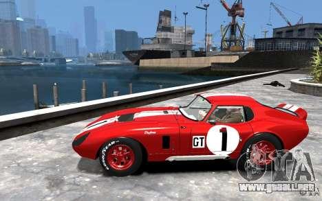 Shelby Cobra Daytona Coupe 1965 para GTA 4 left