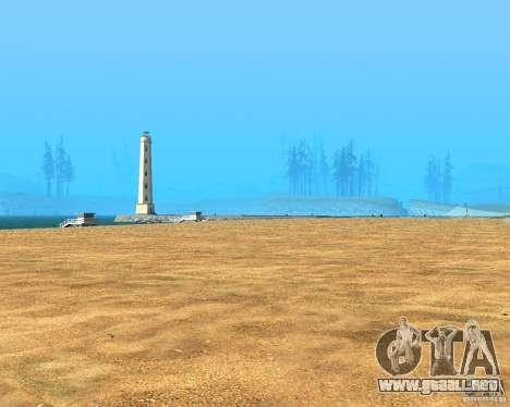 New textures beach of Santa Maria para GTA San Andreas twelth pantalla