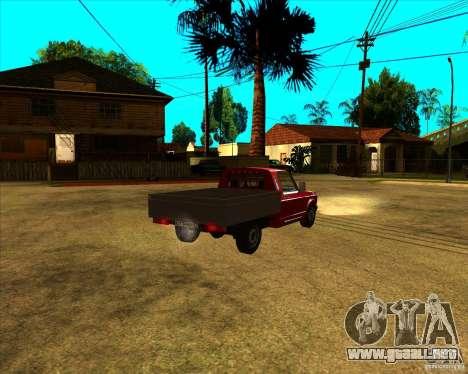 CEP 2345 para GTA San Andreas vista posterior izquierda