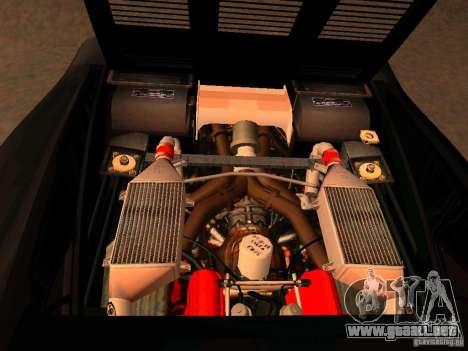 Ferrari 288 GTO para visión interna GTA San Andreas