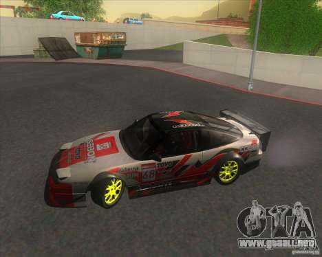 Nissan 240SX for drift para vista lateral GTA San Andreas
