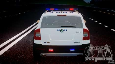 Skoda Octavia Scout NYPD [ELS] para GTA motor 4