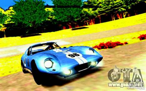 Shelby Cobra Daytona Coupe v 1.0 para GTA San Andreas left
