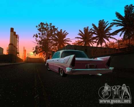 Plymouth Belvedere para GTA San Andreas vista hacia atrás