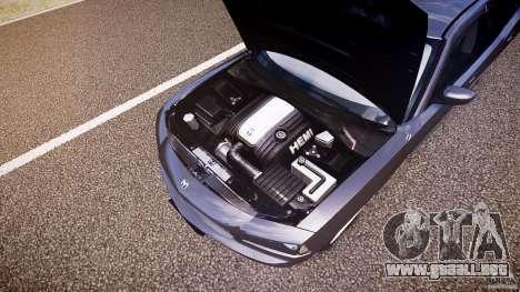 Dodge Charger RT Hemi 2007 Wh 1 para GTA 4 vista desde abajo