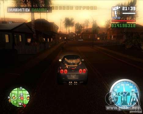 MadDriver s ENB v.3.1 para GTA San Andreas tercera pantalla