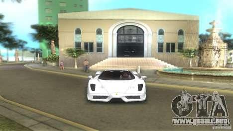 Ferrari Enzo para GTA Vice City vista lateral izquierdo